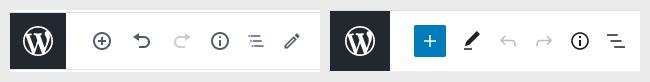 Il nuovo bottone per l'inserimento dei blocchi.